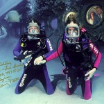 Underwater weddings in the Cayman Islands