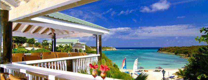 verandah resort spa antigua balcony view